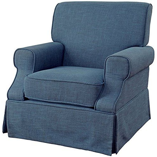 Brady Transitional Swivel Glider Throughout Well Known Bailey Linen Flare Arm Wing Skirted Swivel Gliders (View 15 of 20)