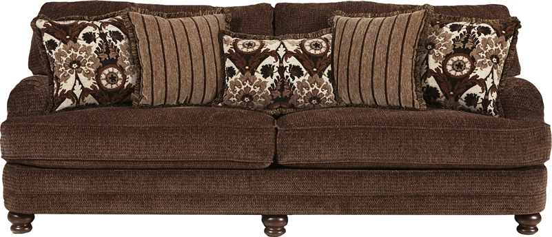 Brennan Sofa Chairs Intended For Latest Brennan Sofa In Espresso Fabricjackson Furniture – 4438 03 E (View 7 of 20)
