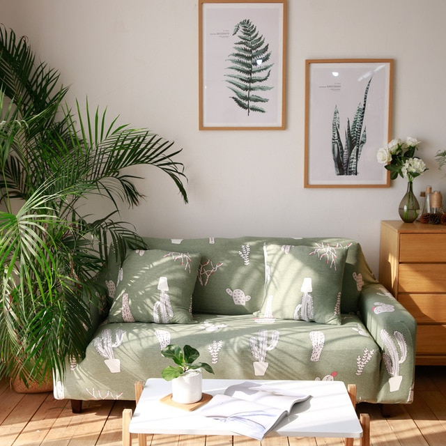 Cactus Furniture Elastic Sofa Covers Universal Stretch Loveseat Sofa With Most Current Sofa And Chair Slipcovers (View 20 of 20)