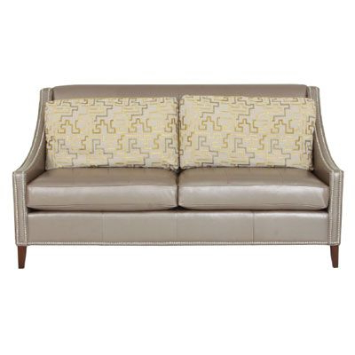 Callie Leather Sofa – Ken Michaels Furniture & Milwaukee Mattress Inside Well Known Callie Sofa Chairs (View 5 of 20)