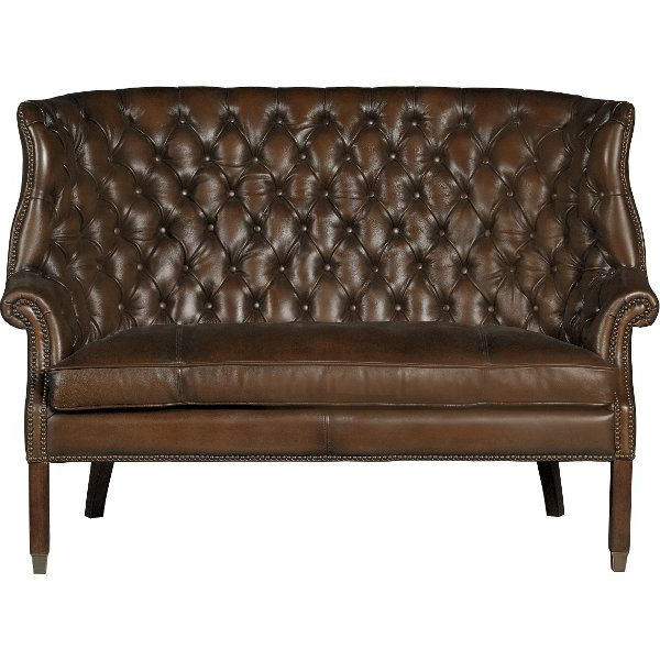 Caressa Leather Dark Grey Sofa Chairs In Current Clearance Barcelona Chestnut Brown Leather Settee – Bates (View 4 of 20)