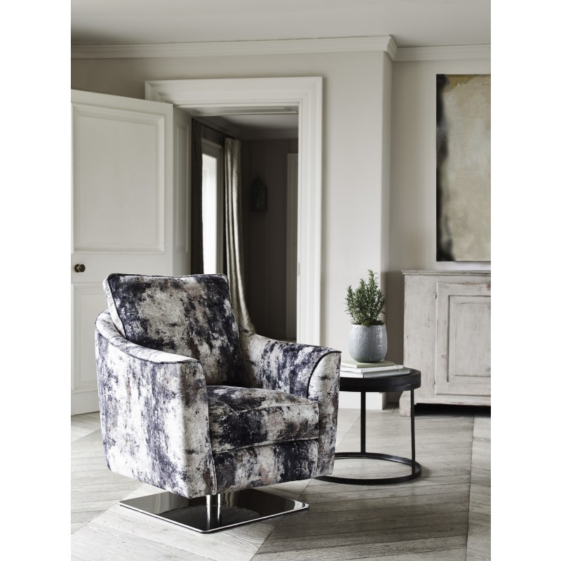 Carrera Swivel Chair (View 3 of 20)