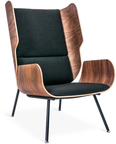 Chadwick Tomato Swivel Accent Chairs With Most Popular Modern Lounge Chair & Contemporary Chairs – 2Modern (View 5 of 20)