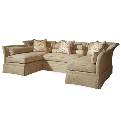 Chaise Sofa Chairs Throughout Favorite Century Furniture Sectionals (View 8 of 20)