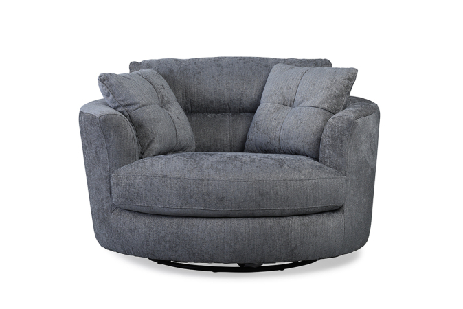 Charcoal Swivel Chairs For Well Liked Nelson Swivel Chair Charcoal – Furniture Stores Ireland (View 3 of 20)