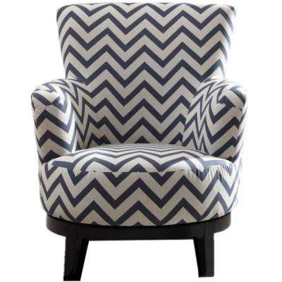 Chevron – Accent Chairs – Chairs – The Home Depot In Well Known Amari Swivel Accent Chairs (View 6 of 20)