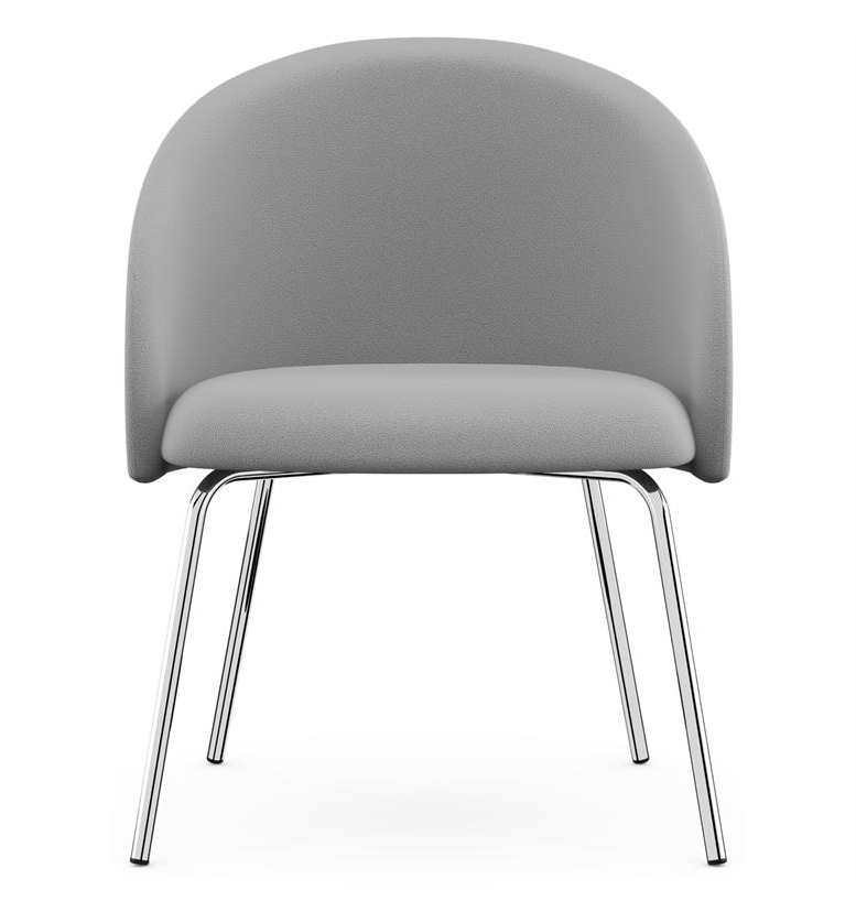 Featured Photo of Chill Swivel Chairs With Metal Base