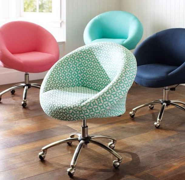 Chill Swivel Chairs With Metal Base With Fashionable I Love These Squishy Desk Chairs!! Probably A Hundred Dollars (View 10 of 20)