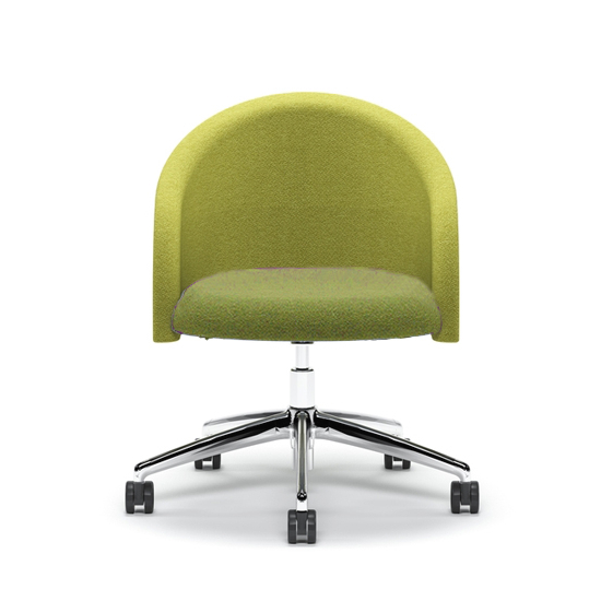 Chill Swivel Chairs With Metal Base With Regard To Popular Boss Komac Chill Chair Polished 5 Star Base (View 12 of 20)