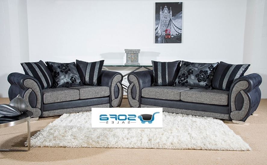 Chloe 3 And 2 Seater Sofa Set (View 4 of 20)