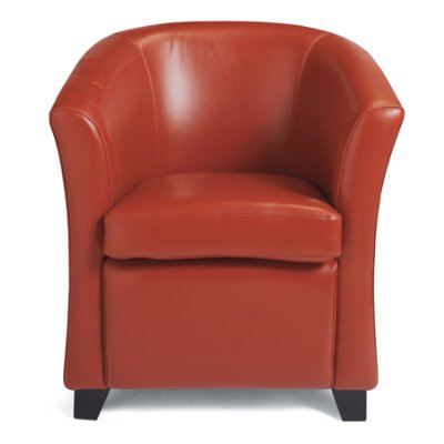Cordoba Leather Club Chair Armchair – Grandin Road – Hurrikannes With Well Known Grandin Leather Sofa Chairs (View 4 of 20)