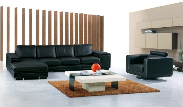 Corner Sofa And Swivel Chairs With 2018 Cow Genuine/real Leather Sofa Set Living Room Sofa Sectional/corner (View 11 of 20)
