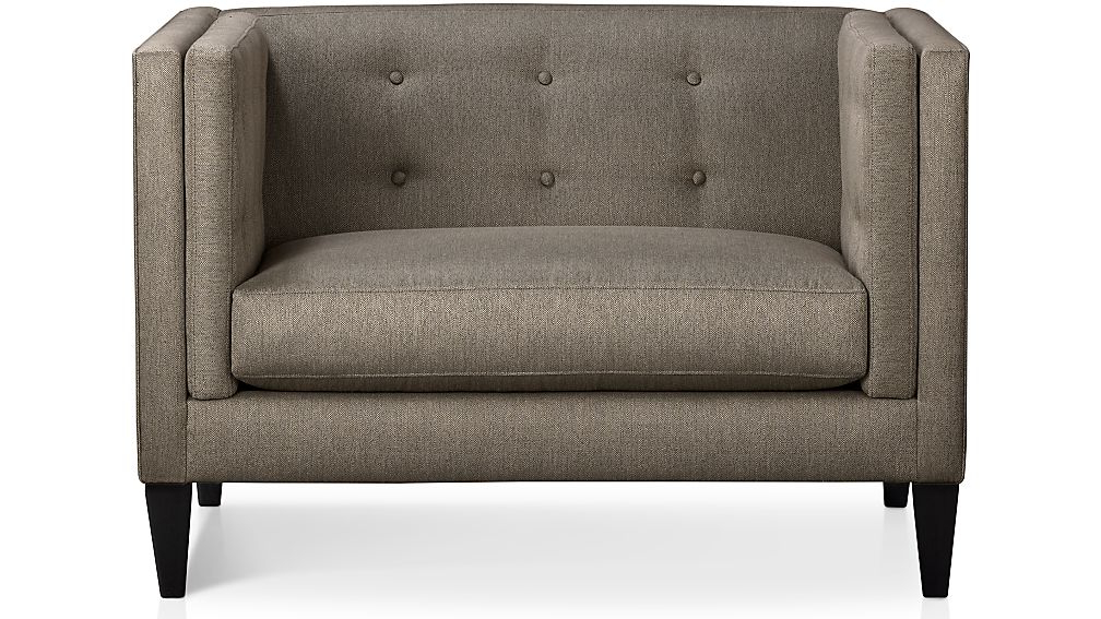 Crate And Barrel Throughout Most Recent Aidan Ii Sofa Chairs (View 17 of 20)