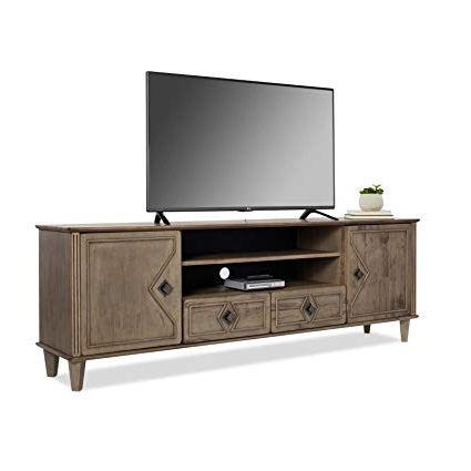 Current 80 Inch Tv Stands In Amazon: Modern Farmhouse Tv Stand Provides Style And Function (View 7 of 20)
