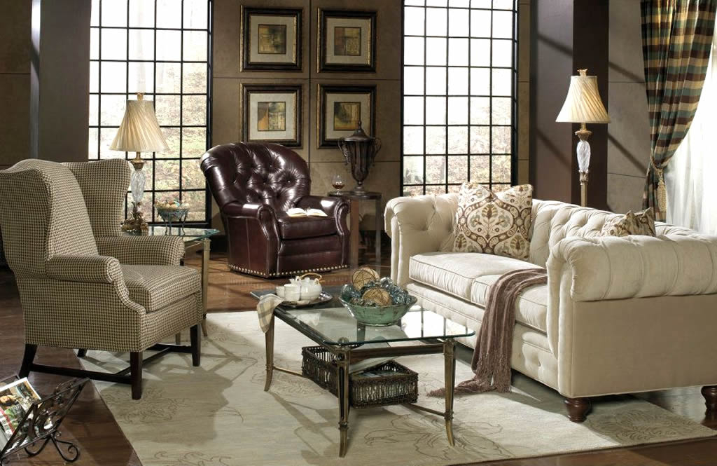 Current Eye For Design: Decorate With The Chesterfield Sofa For Elegance And Within Chesterfield Sofa And Chairs (View 6 of 20)