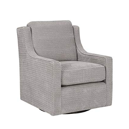 Current Grey Swivel Chairs With Amazon: Madison Park Harris Swivel Chair Grey See Below: Home (View 4 of 20)