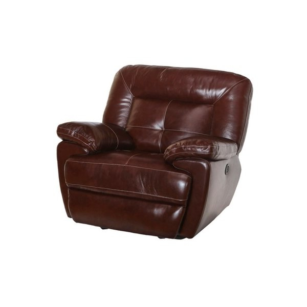 Dale Iii Polyurethane Swivel Glider Recliners Inside 2018 Shop Dale Leather Power Glider Recliner – Free Shipping Today (Gallery 4 of 20)