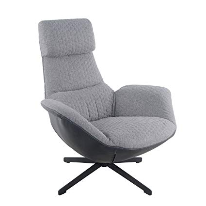 Dark Grey Swivel Chairs Within Widely Used Amazon: New Pacific Direct 6900012 Aubenn Hexagon Swivel Chair (Gallery 4 of 20)