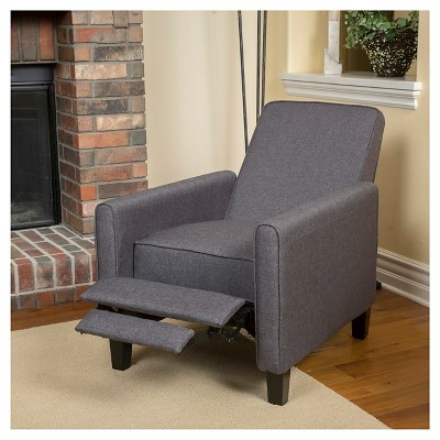 Darvis Fabric Recliner Club Chair – Smokey Gray – Christopher Knight Regarding Best And Newest Loft Smokey Swivel Accent Chairs (Gallery 11 of 20)