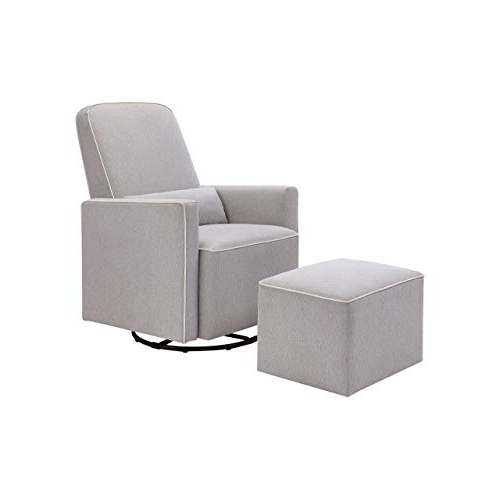 Decker Ii Fabric Swivel Glider Recliners Intended For Best And Newest Upholstered Swivel Chairs: Amazon (View 9 of 20)