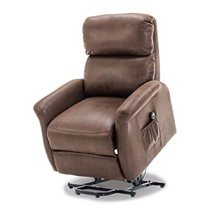 Decker Ii Fabric Swivel Glider Recliners With Famous Amazon: Bonzy Lift Recliner Classic Power Lift Chair Soft And (View 10 of 20)
