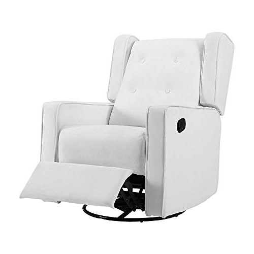 Decker Ii Fabric Swivel Rocker Recliners For Well Known Swivel Recliner Chairs: Amazon (Gallery 8 of 20)