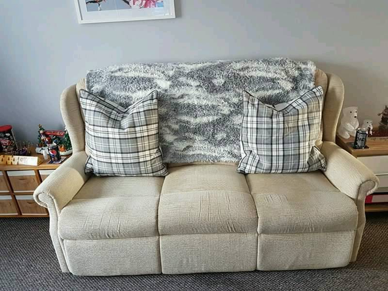 Devon Ii Arm Sofa Chairs In Well Known 3 Seater Sofa + 1 Arm Chair (Gallery 10 of 20)
