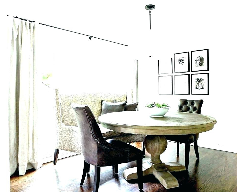 Dining Table With Sofa Chairs For Most Current Dining Table With Couch Settee For Kitchen Table Dining Table Couch (View 4 of 20)