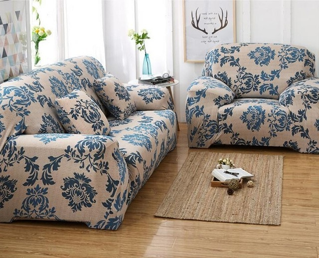 Elastic Sofa Chair Covers Inclusive Universal Cloth Cover Anti Skid Pertaining To Fashionable Sofa And Chair Covers (View 1 of 20)