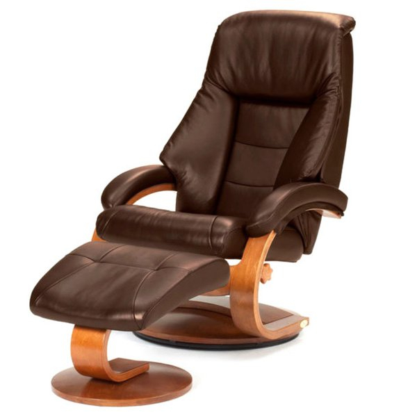 Featured Photo of Espresso Leather Swivel Chairs