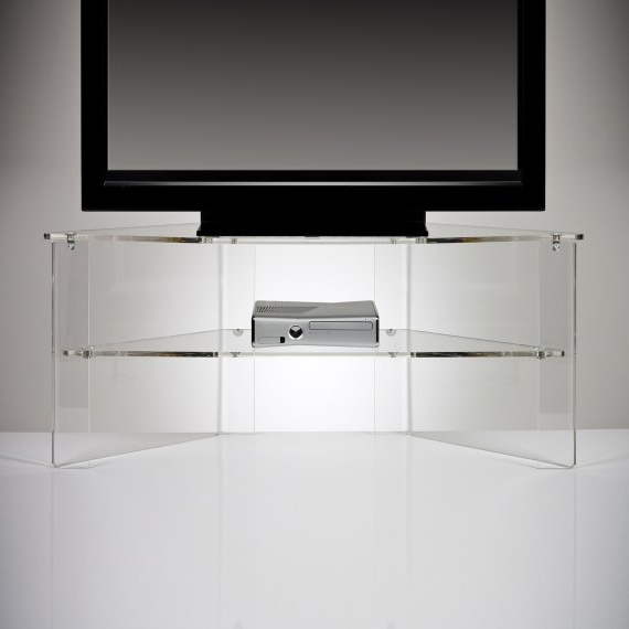 Etsy Pertaining To Acrylic Tv Stands (View 2 of 20)