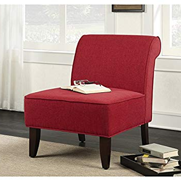 Famous Amazon : Sadie Slipper Pimento Accent Chair : Sports & Outdoors Pertaining To Sadie Ii Swivel Accent Chairs (View 3 of 20)
