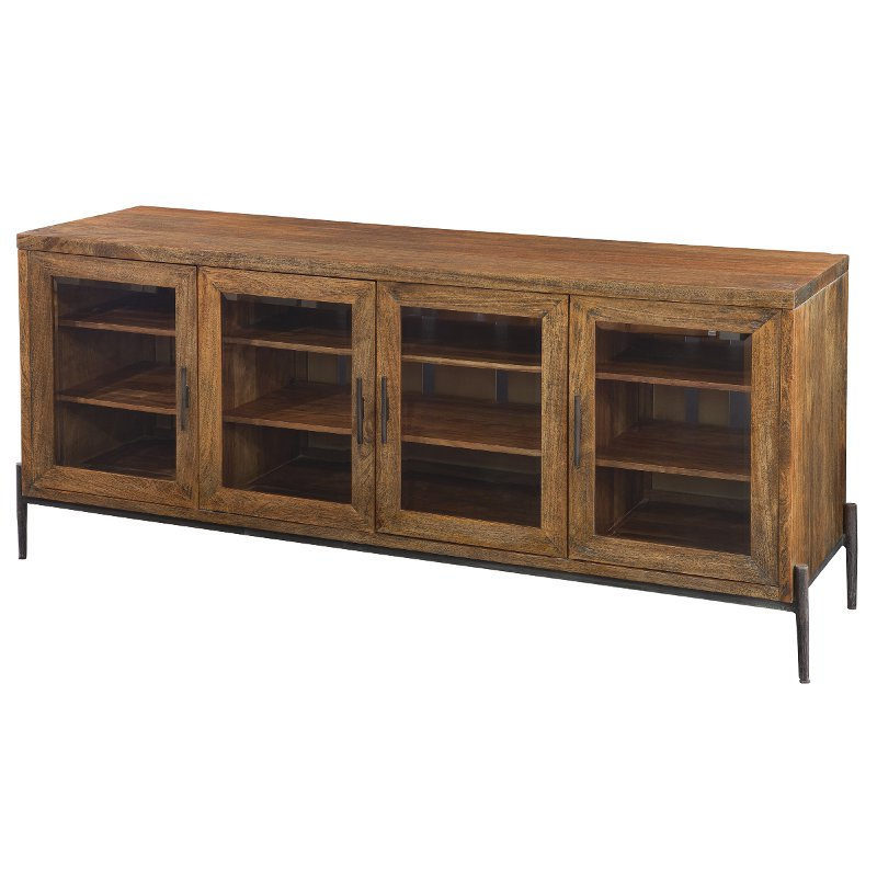 Famous Bedford Tv Stands Pertaining To 74 Inch Medium Brown Tv Stand – Bedford (View 5 of 20)
