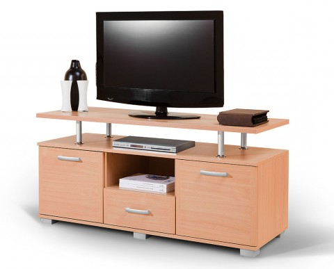 Famous Beech Tv Stands With Tv Stand Luna — Furniture Matis (View 7 of 20)