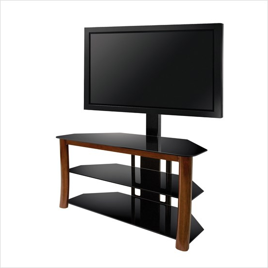 Famous Bell'o Tp4501 – Triple Play Universal Flat Panel Tv Stand (View 7 of 20)