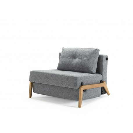 Famous Cubed 90 Wood Single Sofa Bed Chair Pertaining To Cheap Single Sofa Bed Chairs (View 6 of 20)