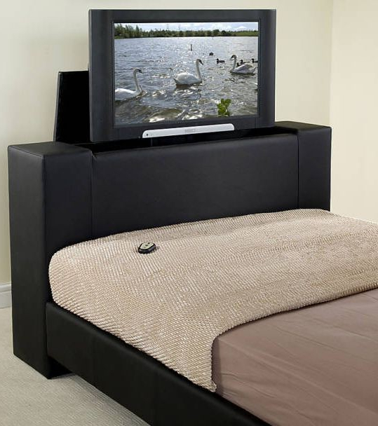 Famous Do You Have A Big Tv In Your Bedroom? — Digital Spy Inside 32 Inch Tv Beds (View 7 of 20)