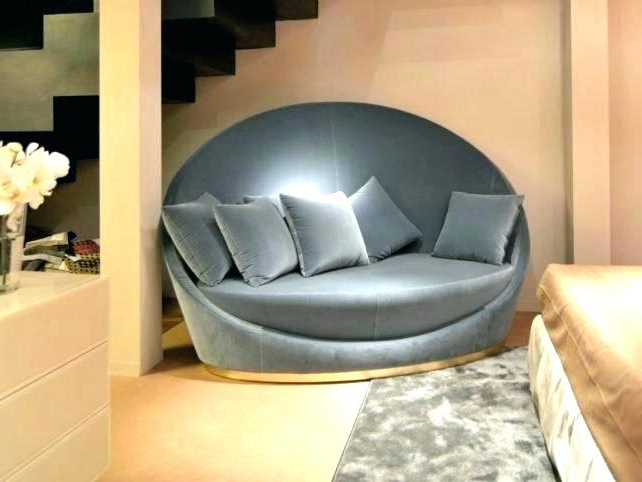 Famous Grey Living Room Chairs Circle Sofa Chairs Round Sofas Furniture Within Circle Sofa Chairs (View 8 of 20)