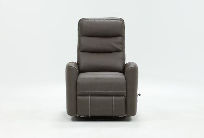 Featured Photo of Hercules Grey Swivel Glider Recliners