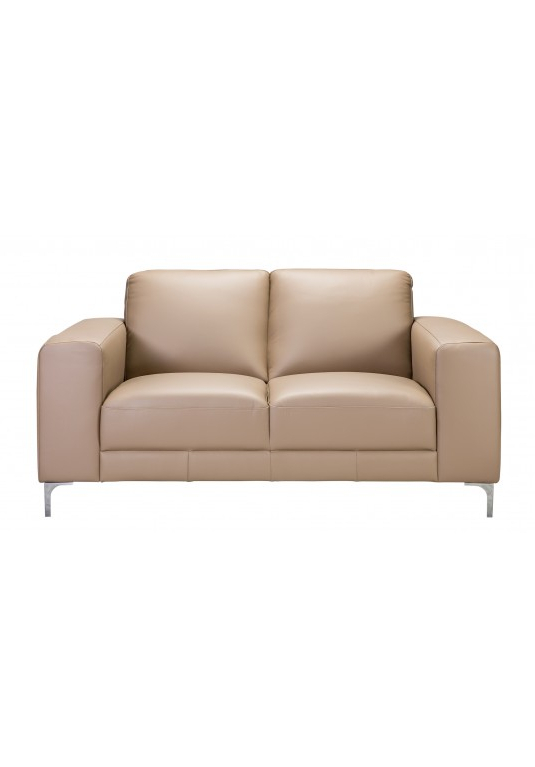 Famous Kiara Sofa Chairs Pertaining To Kiara 2 Seater Love Seat Leather (View 11 of 20)