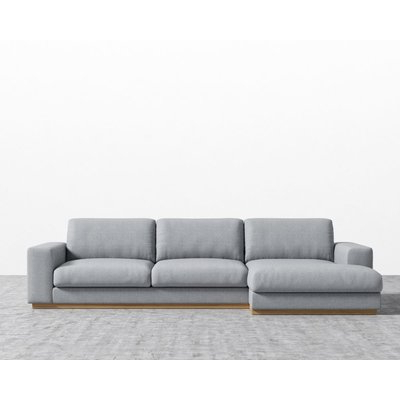 Famous Quinn Teak Sofa Chairs For Everly Quinn Stoner Sectional Orientation: Left Hand Facing (View 14 of 20)
