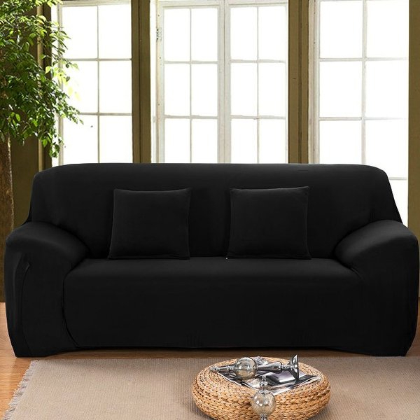 Famous Shop Stretch 1/2/3 Seats Sofa Chair Cover Loveseat Couch Sofa Within Sofa And Chair Slipcovers (View 10 of 20)