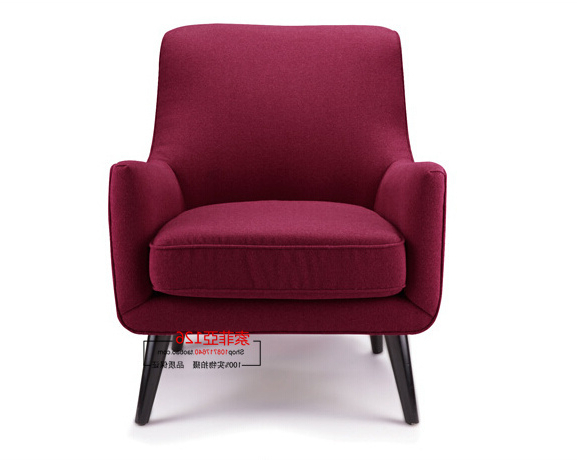 Famous Single Chairs For Living Room Modern Minimalist Living Room Bedroom Pertaining To Bedroom Sofa Chairs (View 10 of 20)
