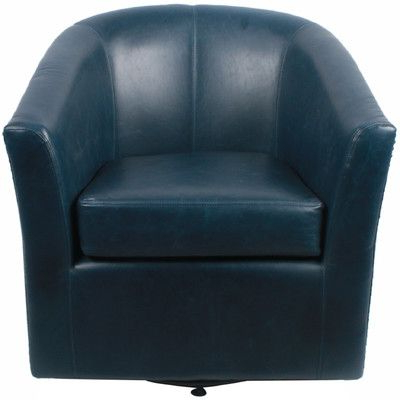 Famous Twirl Swivel Accent Chairs In New Pacific Direct Ernest Bonded Leather Swivel Barrel Chair Color (View 14 of 20)