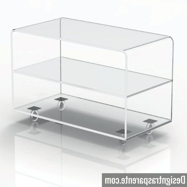 Fashionable Acrylic Tv Stands Intended For Acrylic Tv Stand Flat Screen Stands Flat Screen Stand Clear Acrylic (View 18 of 20)