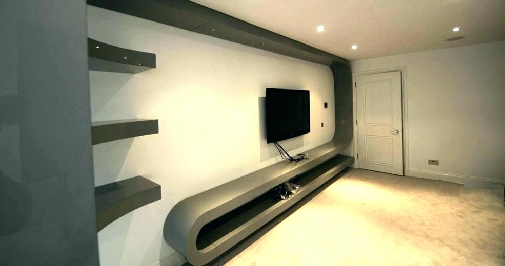 Fashionable Bedroom Tv Shelves Intended For Modern Stand Ideas Bedroom Tv Unit Mount – Design Home Room Interior (View 10 of 20)