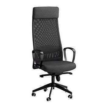 Fashionable Elisa8 Markus – Swivel Chair, Vissle Dark Grey: Amazon.co (View 6 of 20)