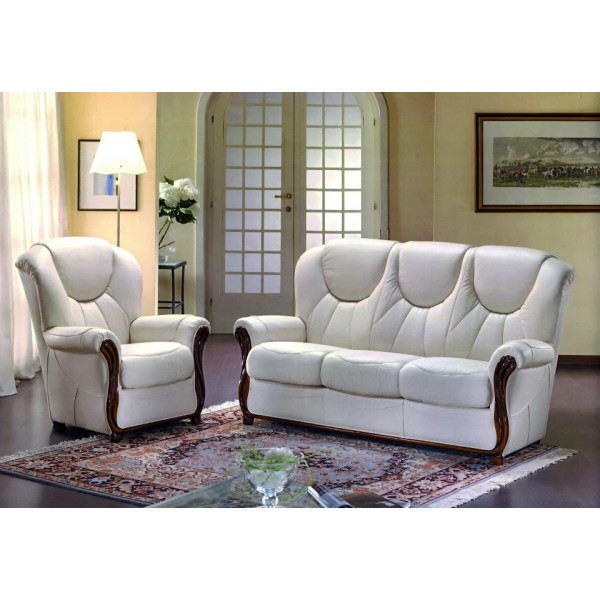 Fashionable Gina Grey Leather Sofa Chairs With Gina Genuine Italian Leather Sofa (View 5 of 20)