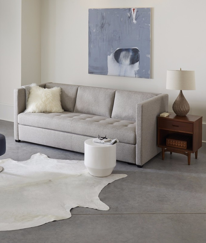 Fashionable Gwen Comfort Sleeperamerican Leather Throughout Gwen Sofa Chairs (View 16 of 20)