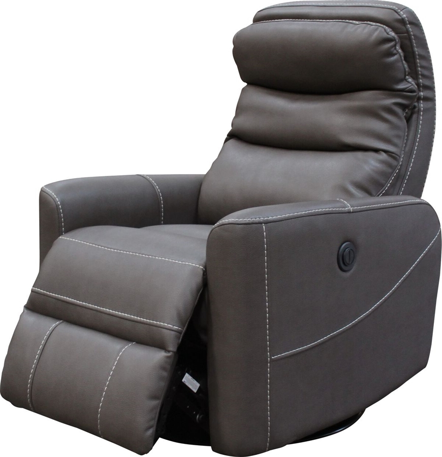 Fashionable Hercules Anywhere Swivel Power Recliner With Articulating Headrest Throughout Hercules Chocolate Swivel Glider Recliners (View 16 of 20)